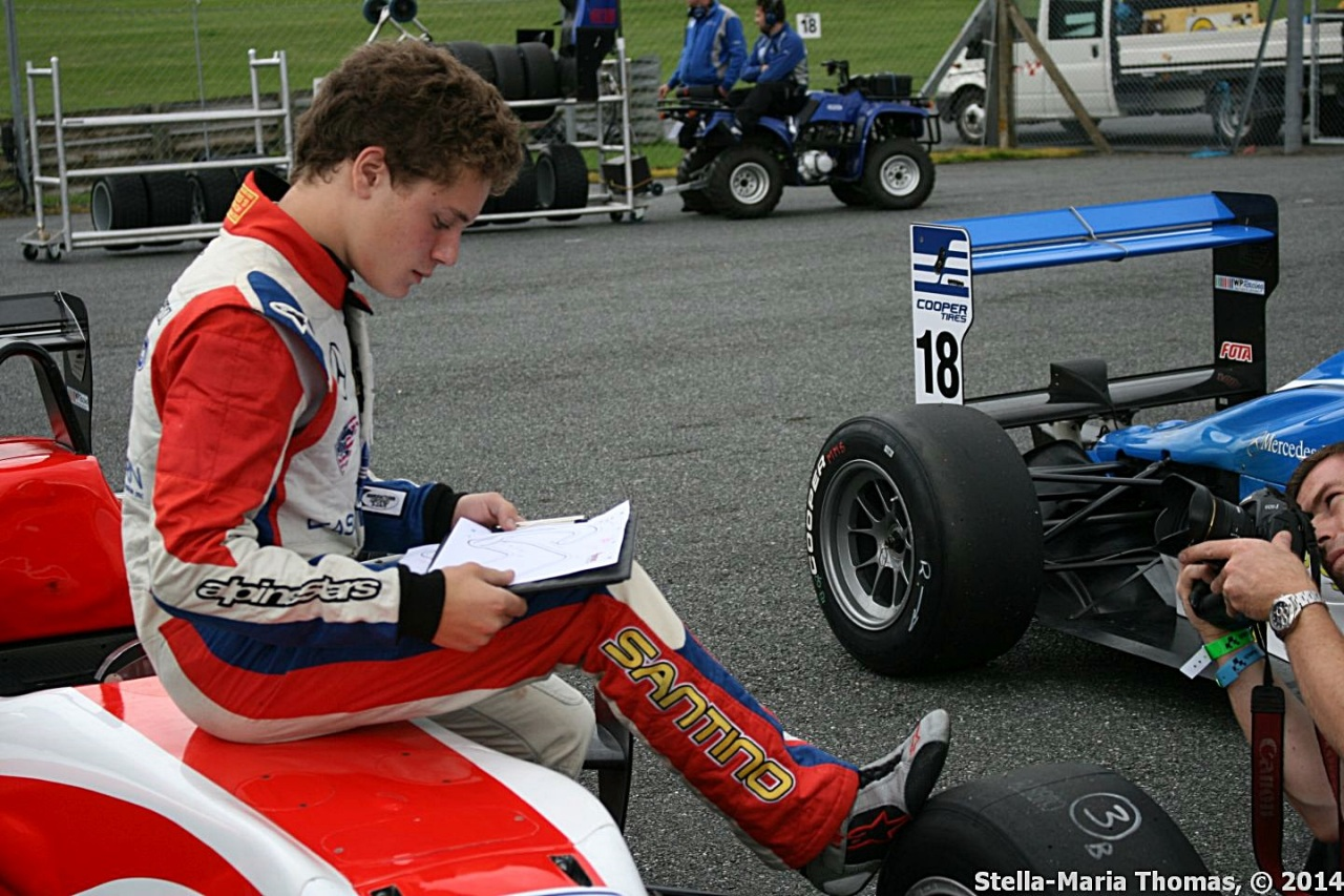 2014 Cooper Tires British Formula 3 Championship – Qualifying Report/Results Rds 16 and18