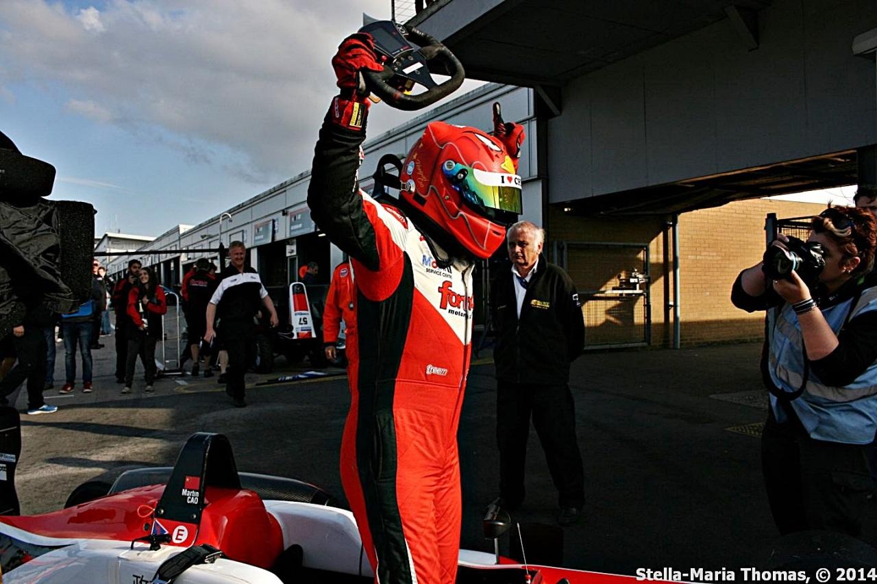 2014 Cooper Tires British Formula 3 Championship – Points After Round21