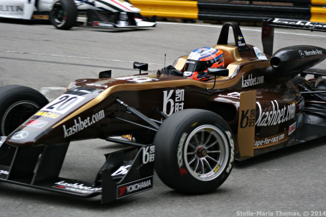 2014 Macau Grand Prix – Qualifying RaceGrid