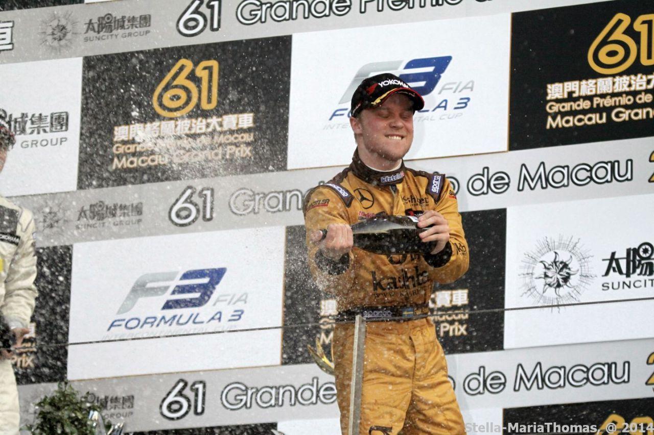 2014 Macau Grand Prix, Race Report andResults