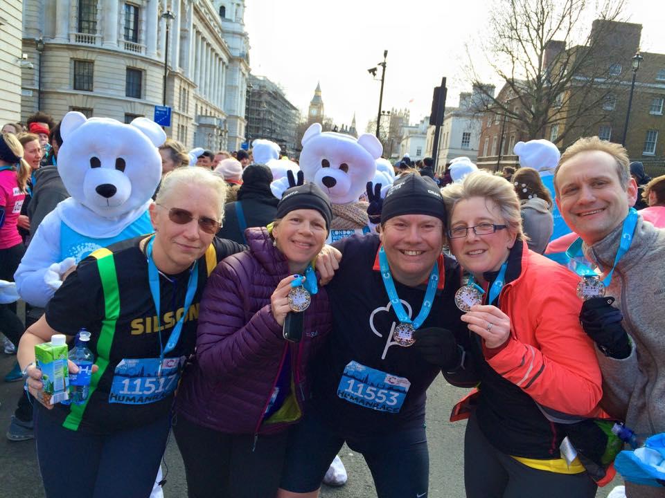 Running 2015 – Cancer Research UK London WinterRun