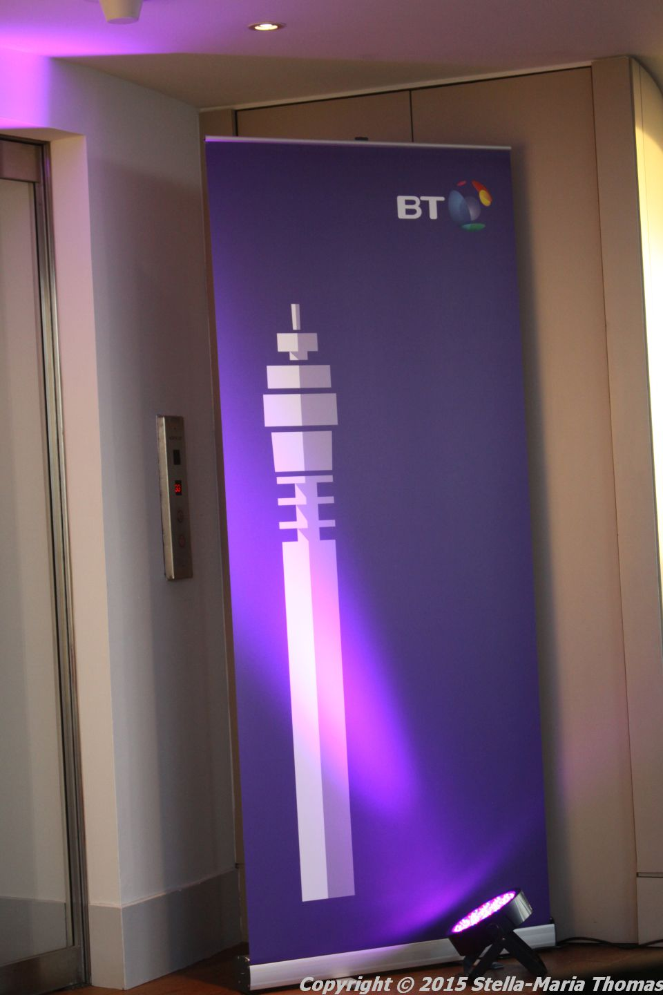 Food 2015 – BT Tower (Celebrating the BT Tower's 50th Birthday), London