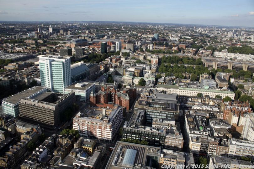BT TOWER 50TH BIRTHDAY, VIEW FROM THE TOP 003