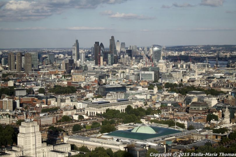 BT TOWER 50TH BIRTHDAY, VIEW FROM THE TOP 020
