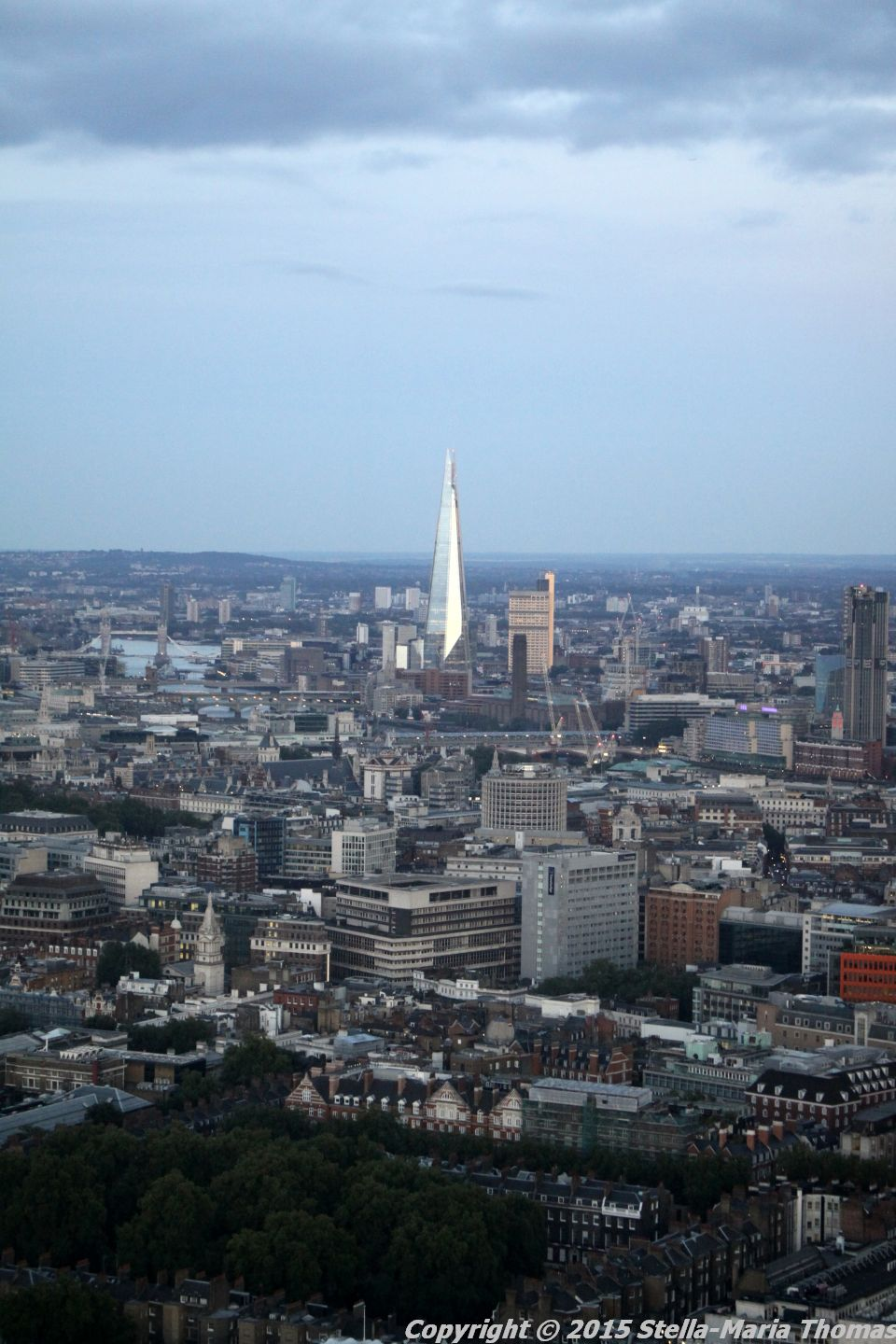 BT TOWER 50TH BIRTHDAY, VIEW FROM THE TOP 045