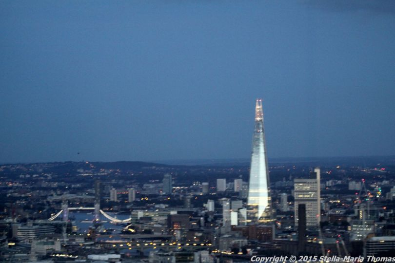 BT TOWER 50TH BIRTHDAY, VIEW FROM THE TOP 054