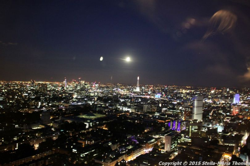 BT TOWER 50TH BIRTHDAY, VIEW FROM THE TOP 065