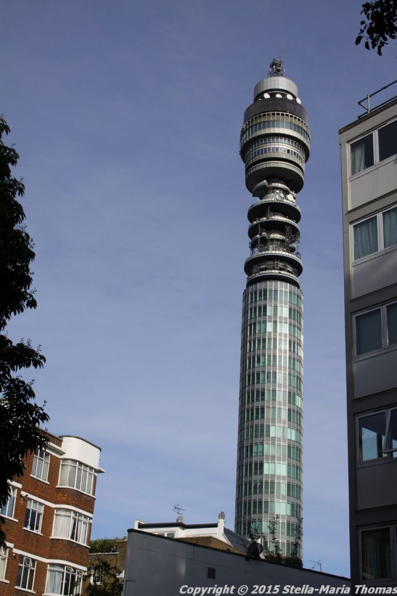 BT TOWER 50TH BIRTHDAY, VIEW OF THE TOP 002