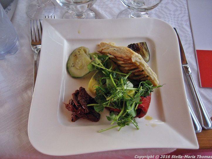 DINNER CRUISE, HELSINKI, VEGETARIAN STARTER PLATE 015