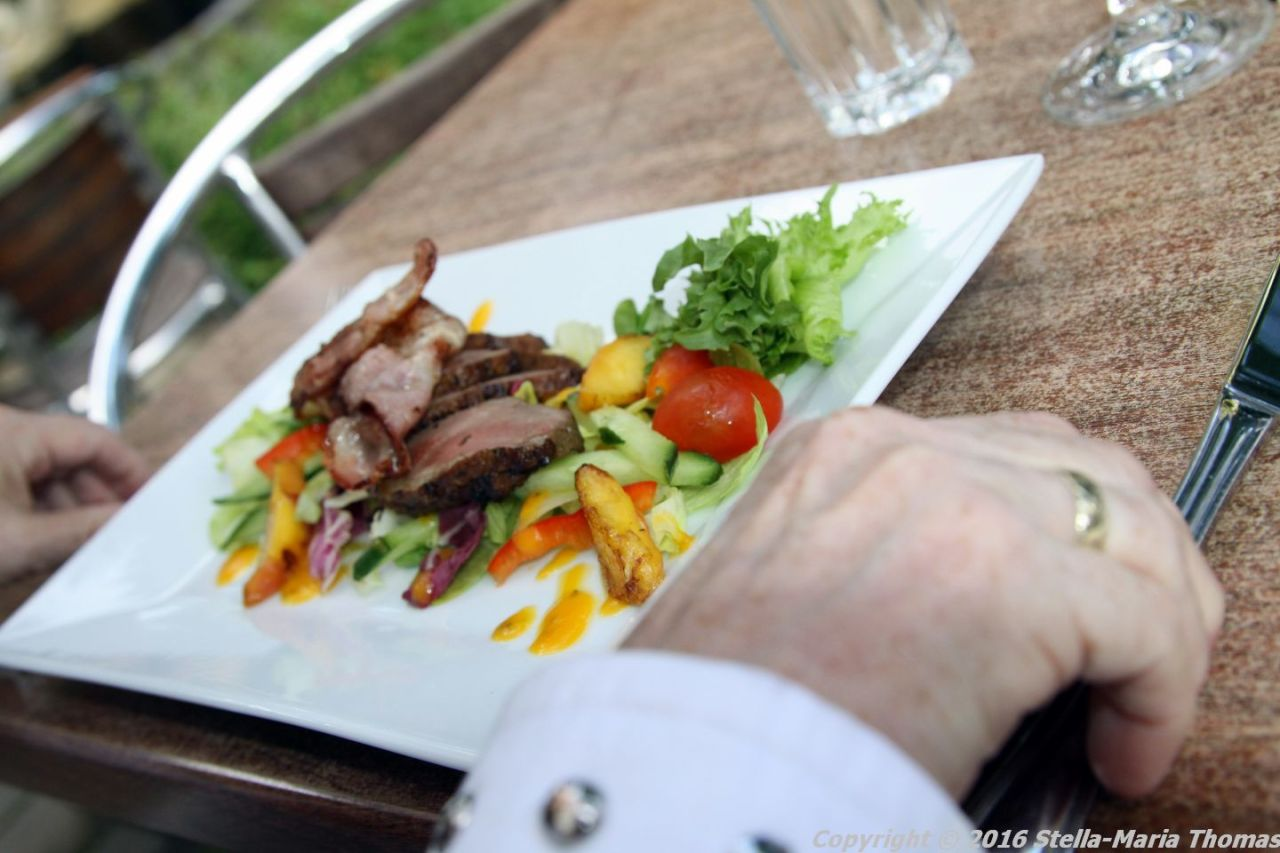 FINLAYSON PALACE, TAMPERE, DUCK SALAD 002