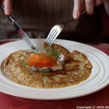 RESTAURANT BUTTENHOFF, IMATRA, SMOKED SALMON AND BLINI 002