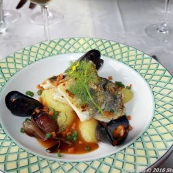 RESTAURANT KNIPAN, EKENAS, PIKE-PERCH WITH CRAYFISH SAUCE AND MUSSELS 006
