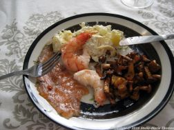TURKU APARTMENT, SMOKED SALMON AND PRAWN SUPPER 001