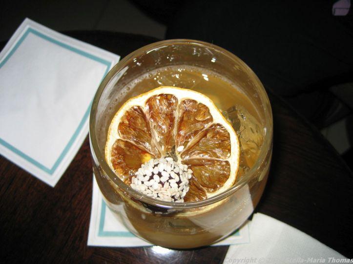 ONE ALDWYCH, THE LOBBY BAR, NEW YORK SOUR 008