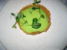 ROUX AT PARLIAMENT SQUARE, RIESLING WINE DINNER, TARTELETTE OF SMOKED DUCK BREAST, PEAS, LEMON 004