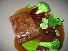 ROUX AT PARLIAMENT SQUARE, RIESLING WINE DINNER, VENISON, BEETROOT, LANDCRESS 006