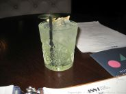 1884 DOCK STREET KITCHEN, BASIL AND ELDERFLOWER SMASH 002