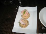 1884 DOCK STREET KITCHEN, PRAWN AND CRAB BLINI 010