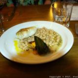 LONDON SHELL COMPANY, COD FILLET, WHITE BEANS, COURGETTES AND HERBS 029