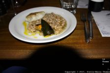 LONDON SHELL COMPANY, COD FILLET, WHITE BEANS, COURGETTES AND HERBS 031