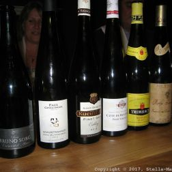 PARIS HOUSE, ALSACE WINE DINNER, WINES 021