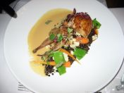 hotel-vanajanlinna-quail-filled-with-duck-and-peanuts-pear-sauce-beluga-lentils-and-vegetables-010_35018032342_o
