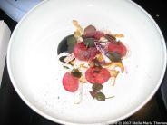 kdbyens-fiskebar-squid-fried-celeriac-black-garlic-pickled-seaweed-and-blueberry-005_34017680234_o