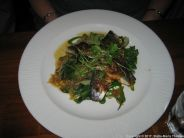 THE NARROW BOAT, BAKED SEA BASS WITH LEMON GRASS 003