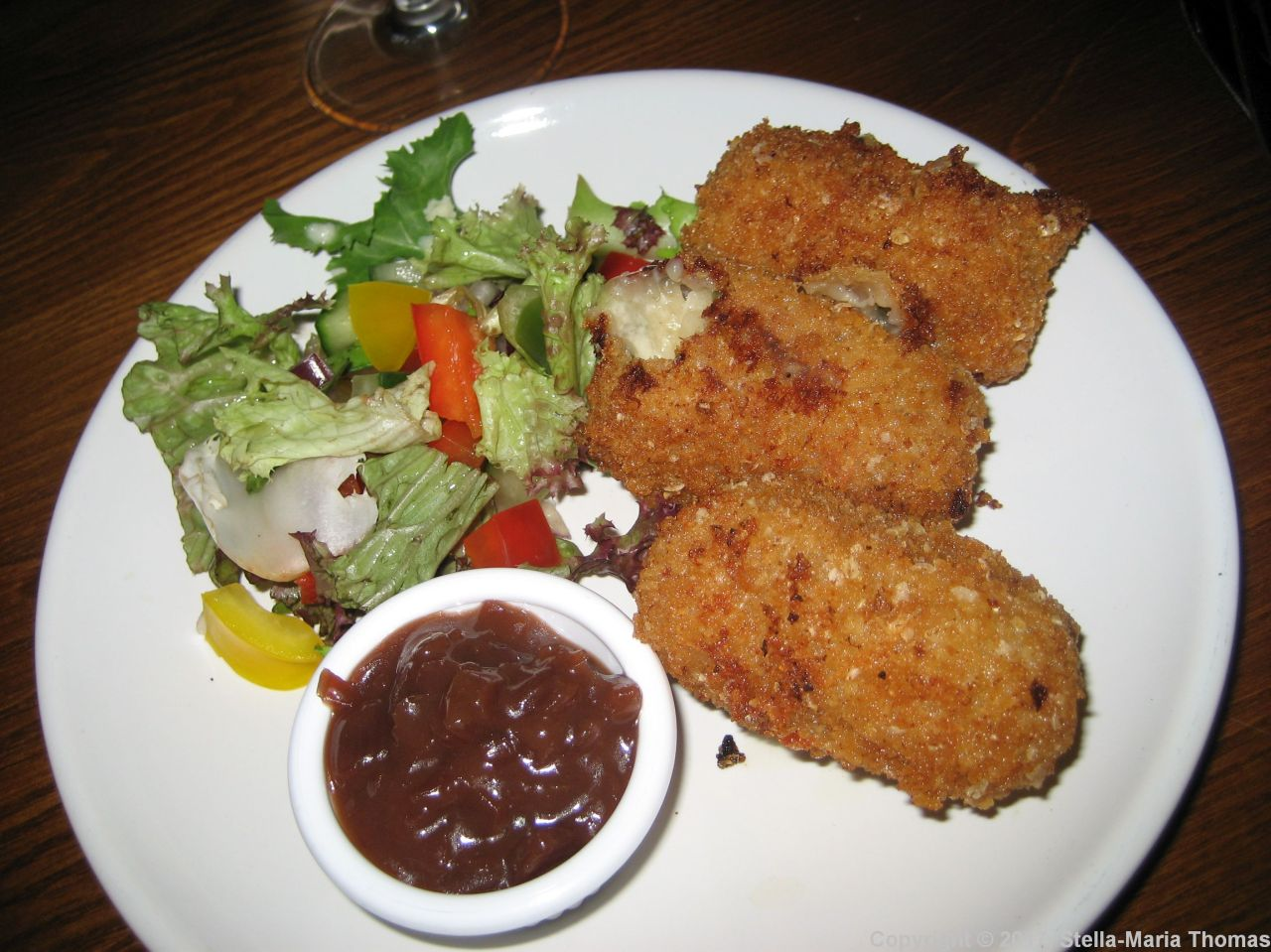 THE WHITE HORSE, CHEESE CROQUETTES 001