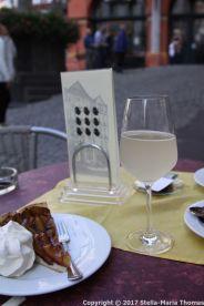BERNKASTEL-KUES CAFE HANSEN - PLUM CAKE AND FEDERWEISSER 002