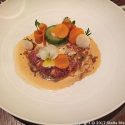 VICTOR'S FINE DINING BY CHRISTIAN BAU - BLUE LOBSTER, CARROT WITH GINGER, KALAMANSI, CORIANDER BISQUE 023