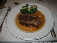BAUER'S RESTAURANT - DUCK BREAST WITH RAISINS AND BROCOLLI 005
