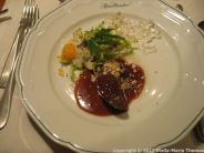 BAUER'S RESTAURANT - DUCK LIVER WITH QUAIL'S EGG 003