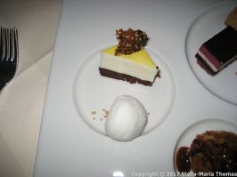 SAXLER'S RESTAURANT - DESSERT SELECTION 010