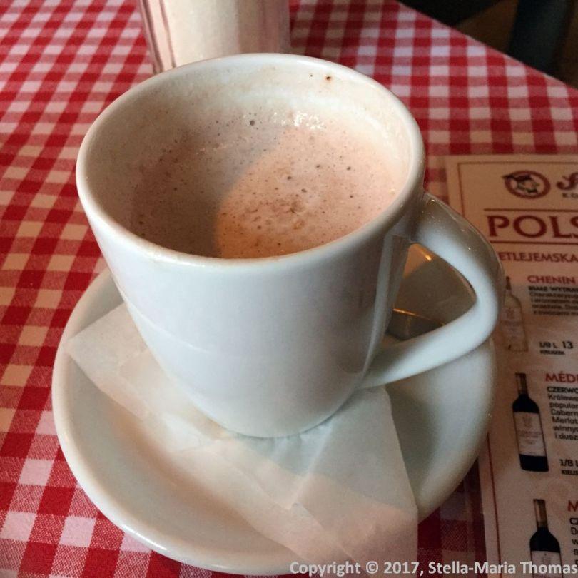 CAFE SUKIENNICE, HOT CHOCOLATE 004