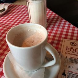 CAFE SUKIENNICE, HOT CHOCOLATE 005