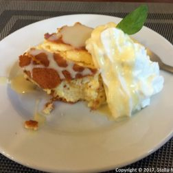 KRAKOW, WAWEL CAFE, POLISH CHEESECAKE 002