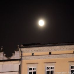 MOONRISE OVER KRAKOW OLD TOWN 001