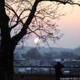 SUNSET OVER KRAKOW 001