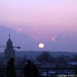 SUNSET OVER KRAKOW 002