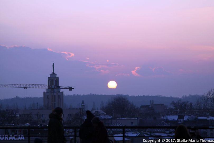 SUNSET OVER KRAKOW 002