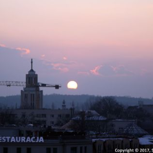 SUNSET OVER KRAKOW 003