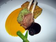 WENTZL, POLISH LAMB CHOPS, SWEET POTATO GRATIN, PARSLEY CRUMB, PORTER SAUCE 011