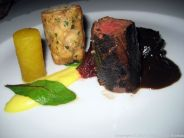 WENTZL, WILD BOAR TENDERLOIN AND CHEEK, WHEAT DUMPLING, YELLOW BEETROOTS WITH WILD GARLIC 014