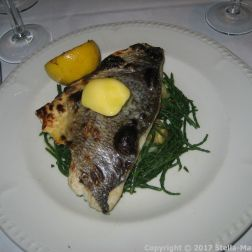 PRIDE OF HULL, THE BRASSERIE - SEA BREAM WITH SAMPHIRE AND CRUSHED NEW POTATOES 008