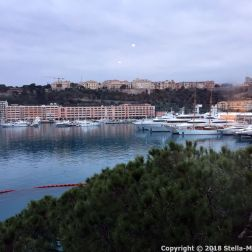 PORT PALACE HOTEL, MONACO, VIEW FROM THE ROOM 001
