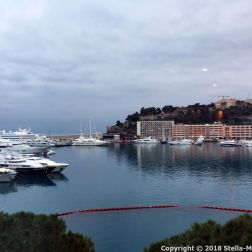 PORT PALACE HOTEL, MONACO, VIEW FROM THE ROOM 002