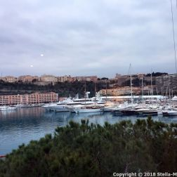 PORT PALACE HOTEL, MONACO, VIEW FROM THE ROOM 003
