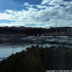 PORT PALACE HOTEL, MONACO, VIEW FROM THE ROOM 005