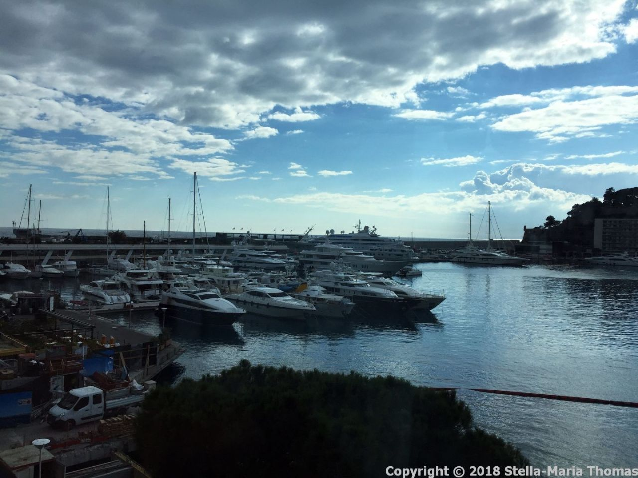 PORT PALACE HOTEL, MONACO, VIEW FROM THE ROOM 006